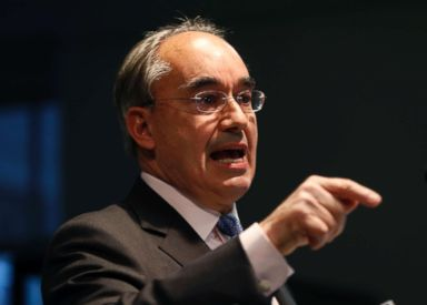 PHOTO: Rep. Bruce Poliquin speaks at a news conference, Tuesday, Nov. 13, 2018, in Augusta, Maine.