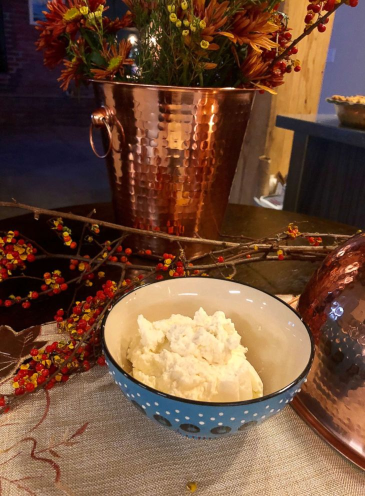 PHOTO: Salted caramel whipped cream that is the perfect addition to Dutch apple pie.