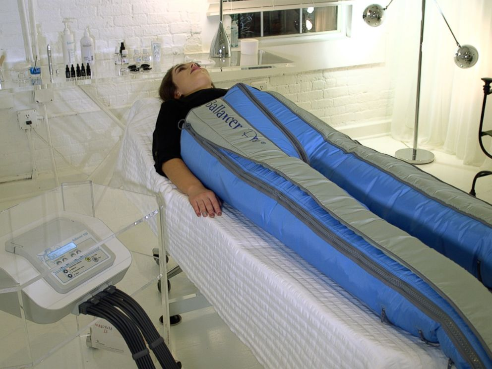 PHOTO: The Ballancer Pro is like a giant sleeping bag for the body that the makers say uses compression therapy to eliminate toxins, slim and tone the body and treat cellulite.